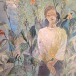 今日のデイケアは、畑と喫茶と尾道の学生さん達の展示がしてある美術館