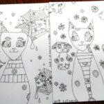 イラストをまた、2枚描けました。