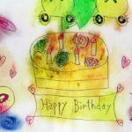 Happy Birthdayおめでとう。